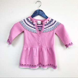 Hanna Andersson Pink Cotton Girl Top